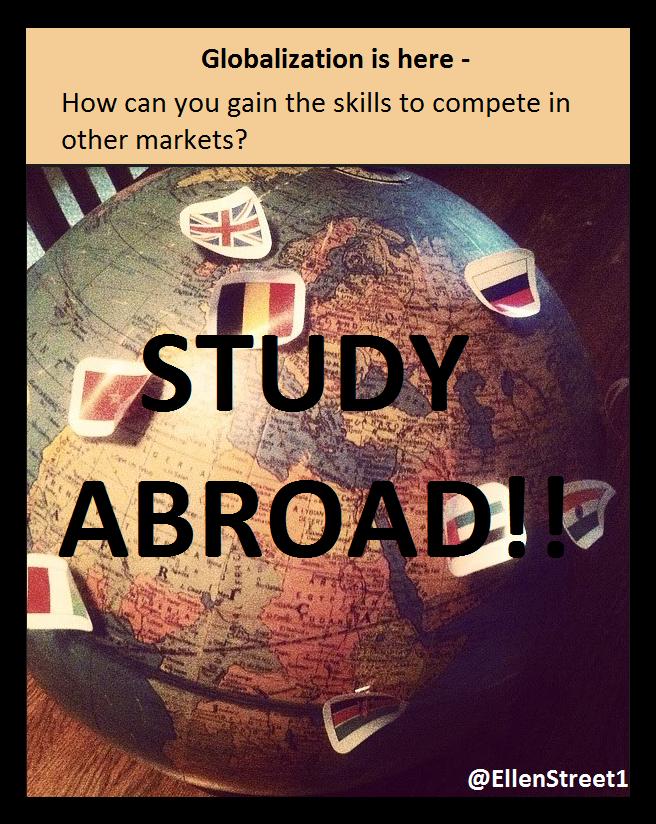Globalization Study Abroad Graphic
